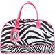 Double Zebra Duffle Bag
