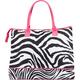 Double Zebra Tote Bag