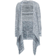 FULL TILT Marled Girls Wrap Sweater