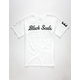 BLACK SCALE Script Logotype Mens T-Shirt