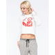 LRG Logo Cluster Womens Cropped Hoodie