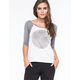 RIP CURL Lost At Sea Womens Raglan Tee
