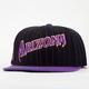 AMERICAN NEEDLE Dotty Pinstripe Diamondbacks Mens Snapback Hat