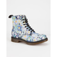 DR. MARTENS Slime Floral Pascal Womens Boots