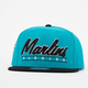 AMERICAN NEEDLE Scripter Marlins Mens Snapback Hat