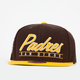 AMERICAN NEEDLE Scripter Padres Mens Snapback Hat