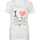 VANS I Heart Love Womens Tee