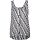 VOLCOM Not So Classic Womens Chiffon Tank