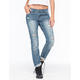VOLCOM Stoned Slim Slouch Womens Boyfriend Jeans