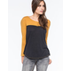 VOLCOM Block It Womens Henley