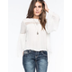 PATRONS OF PEACE Bell Sleeve Womens Top