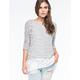 OTHERS FOLLOW Wallflower Womens Sweater