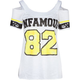 INFAMOUS Jersey Womens Cold Shoulder Tee
