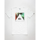 QUIKSILVER Vanishing Point Mens T-Shirt