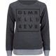 GLAMOUR KILLS GLMR KLLS 4EVR Womens Sweatshirt