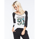 VOLCOM Future Athletics Womens Raglan Tee