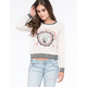 BILLABONG Peace Love Waves Womens Sweatshirt