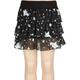 FULL TILT Star Chiffon Girls Ruffle Skirt