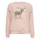 FULL TILT Deer Forest Fill Girls Sweatshirt
