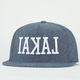 LAKAI Backwards Mens Snapback Hat