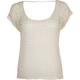 FULL TILT Crochet Womens Boxy Top