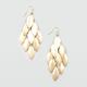 FULL TILT Oval Chandelier Earrings
