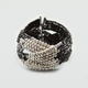FULL TILT Criss Cross Seed Bead Cuff Bracelet