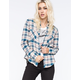 ELEMENT Slacker Womens Flannel Shirt