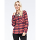 ELEMENT Slacker Womens Flannel Shirt