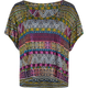 FULL TILT Ethnic Print Womens Hi Low Tee