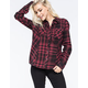 METAL MULISHA Pretty Face Womens Flannel Shirt