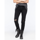 FLYING MONKEY Destroyed Womens Skinny Jeans