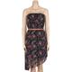 FULL TILT Floral Belted Tube Dress