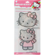 HELLO KITTY 2 Piece Sparkle Decal Set