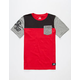 NIKE SB Colorblock Boys Pocket Tee