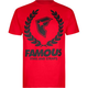 FAMOUS Stars & Straps Wreath Mens T-Shirt