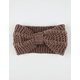 Knotted Sweater Knit Headwrap