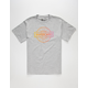 GIRL Sunset Mens T-Shirt