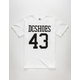 DC SHOES Numbers Mens T-Shirt