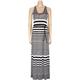 FULL TILT Belted Maxi Dress