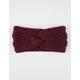 Twist Knit Headwrap