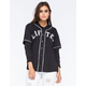 LRG Lifted Hooded Womens Baseball Jersey