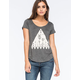 FULL TILT Triangle Cactus Womens Tee
