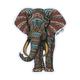 RIOT SOCIETY Tribal Elephant Sticker