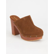 BAMBOO Wilson Womens Clogs
