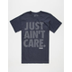 HOONIGAN Irons Just Ain't Care Mens T-Shirt
