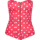 SAY WHAT? Polka Dot Corset