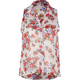 FULL TILT Floral Woven Womens Shirt