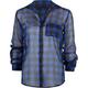 FULL TILT Chiffon Buffalo Check Womens Shirt