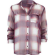 FULL TILT Chiffon Plaid Womens Shirt